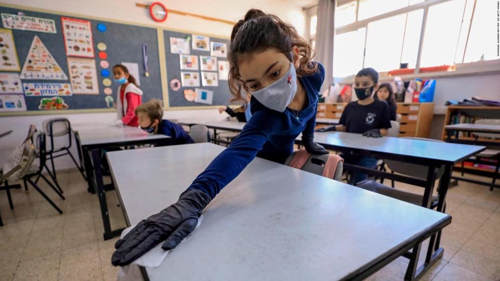 Israel regresa a clases tras el confinamiento