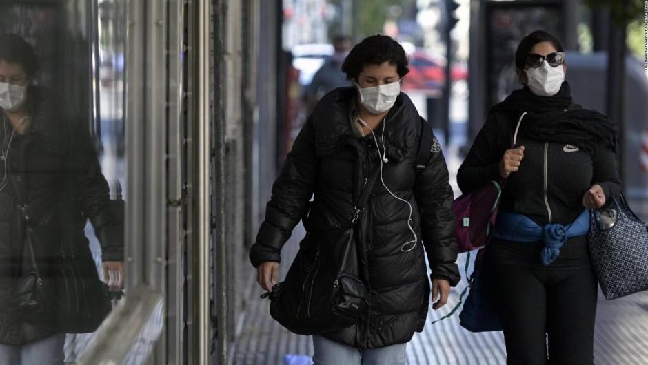 Imponen uso obligatorio de mascarilla en Buenos Aires