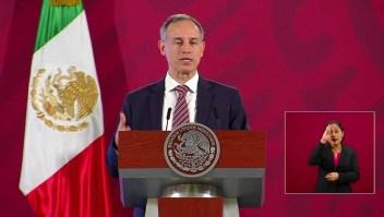 """""""Logramos aplanar la curva"""", dice López-Gatell"""