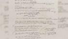 Un manuscrito de Dylan podría venderse en US$ 19.000