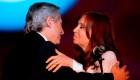 Alberto Fernández y Cristina F. de Kirchner, a solas