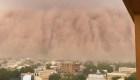Tormenta de polvo gigantesca cubre la capital de Níger