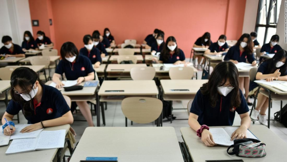 coronavirus, retorno escuelas, educación, mascarillas