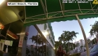Un hombre desafía a la pandemia en Miami Beach