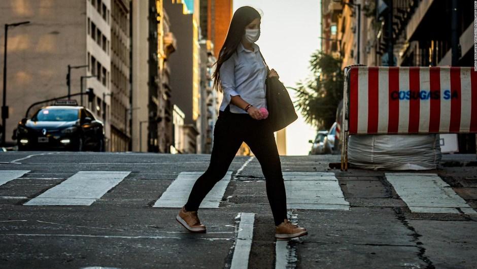 Buenos Aires amplía sus calles por el covid-19