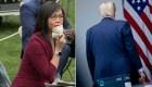 """""""Pregúntele a China"""", Trump a reportera asiático-estadounidense"""