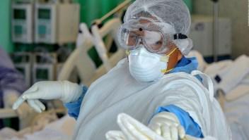 """""""Temo por mi integridad física"""", afirman enfermeras en México"""