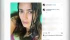 Salma Hayek impone tendencia con el hashtag #NoMakeup