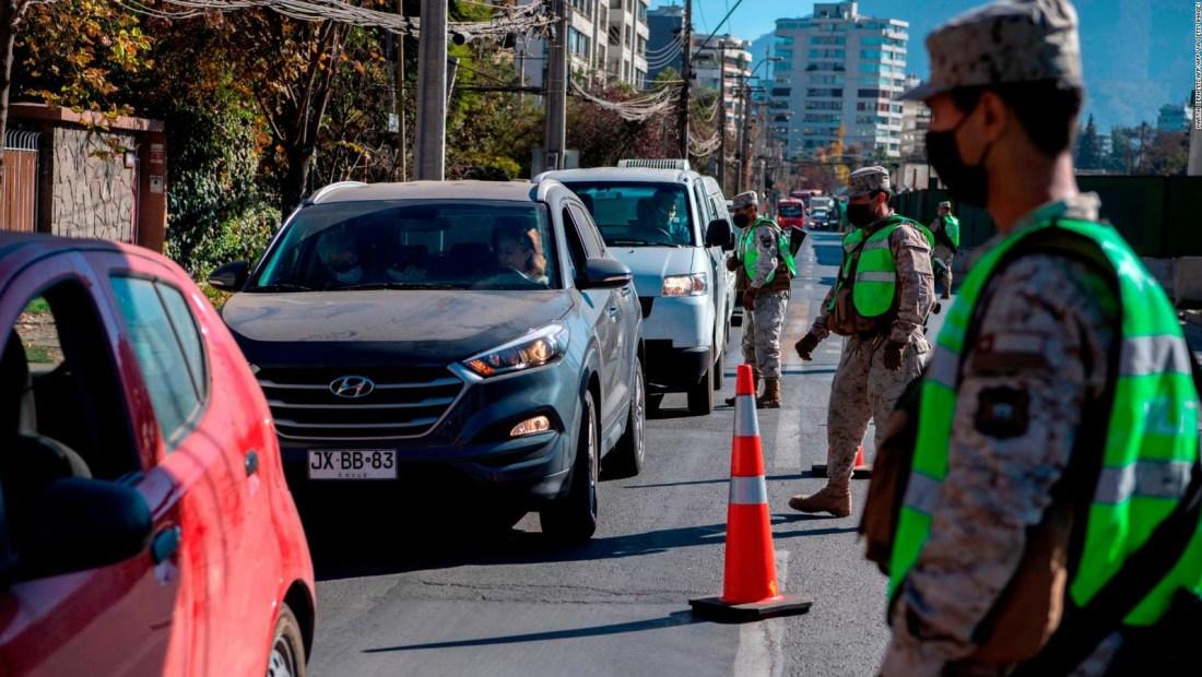 Santiago de Chile pasa primer fin de semana de cuarentena