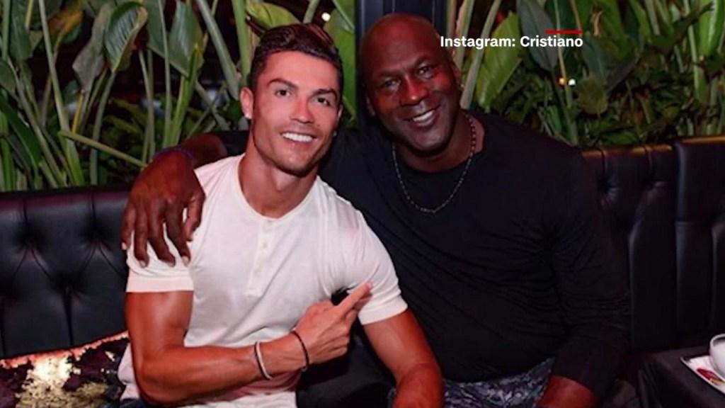 Las relaciones de Michael Jordan con la élite del fútbol