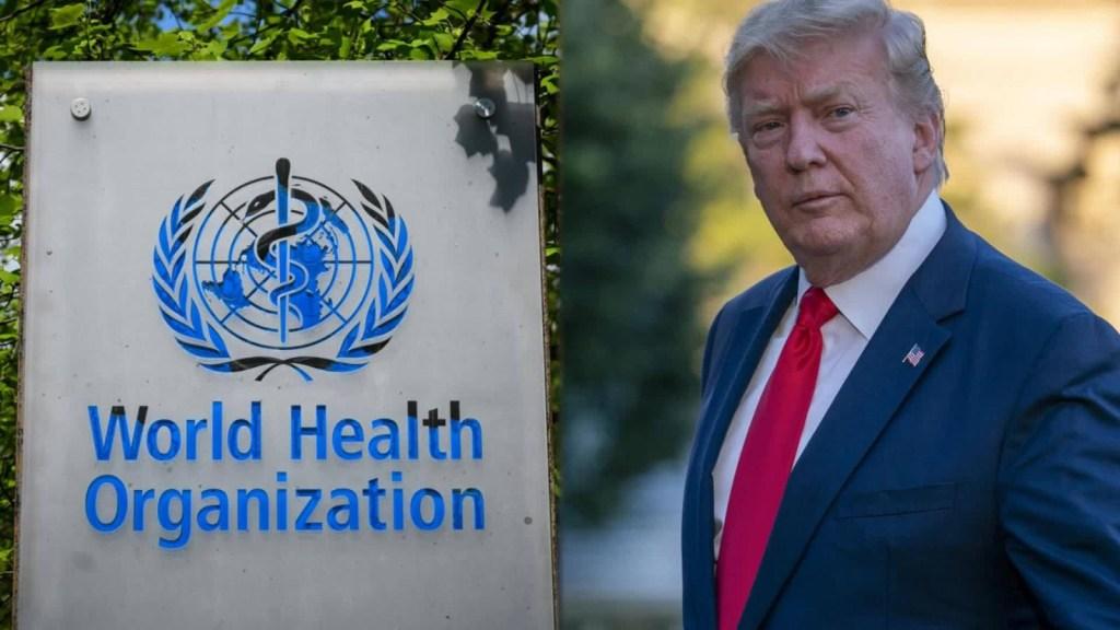 Bajo análisis de la OMS la carta amenazante de Trump