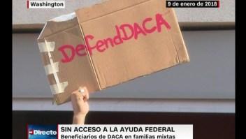 Jóvenes del DACA, excluidos de ayuda federal por pandemia