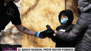 El Banco Mundial prevé mayor pobreza por el covid-19