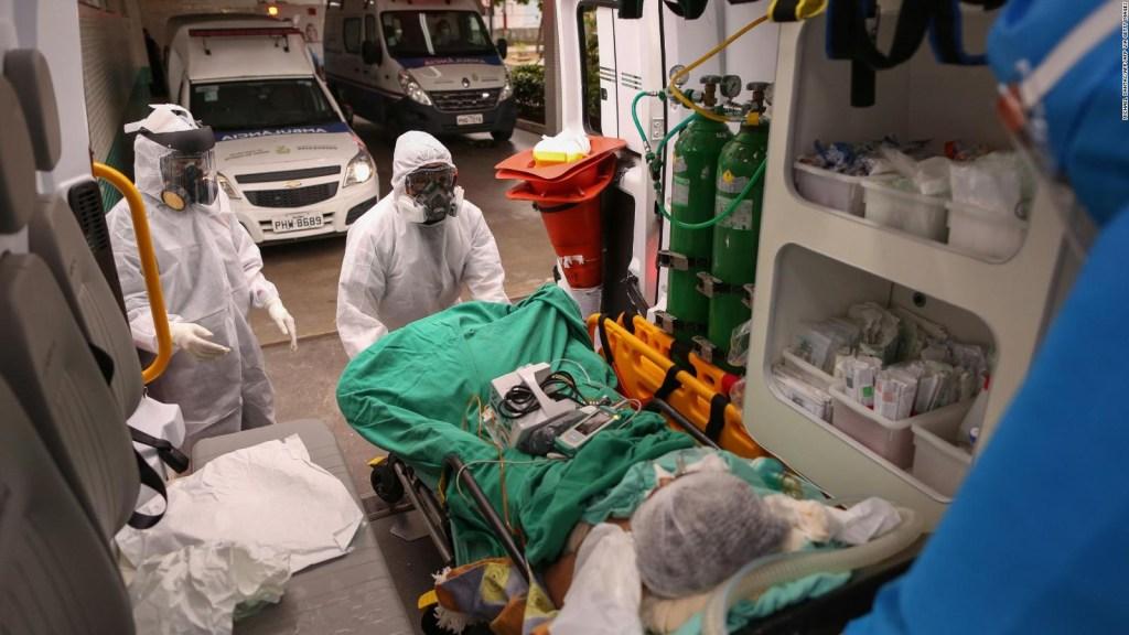 Brasil registró 1.179 muertes en un día por covid-19