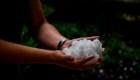 Texas: azotados por una tormenta de granizo