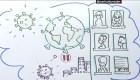 Covid-19: la historia ilustrada de cómo la pandemia cambió nuestras vidas