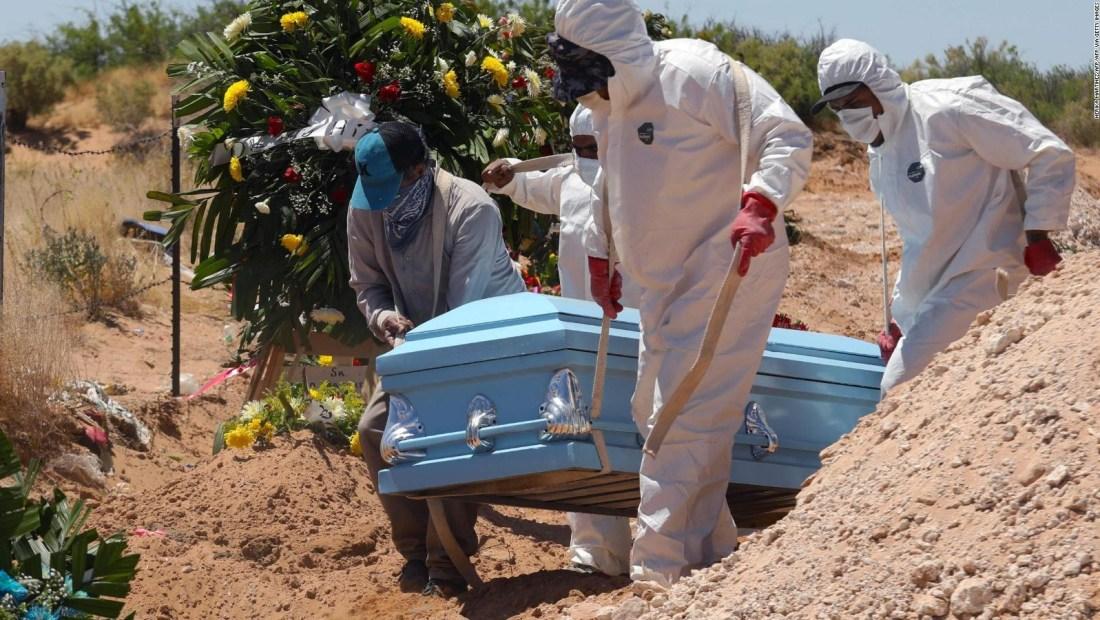 México, entre los 10 países con más muertes por covid-19