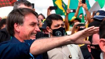 Alcalde brasileño le pide a Bolsonaro callarse y renunciar