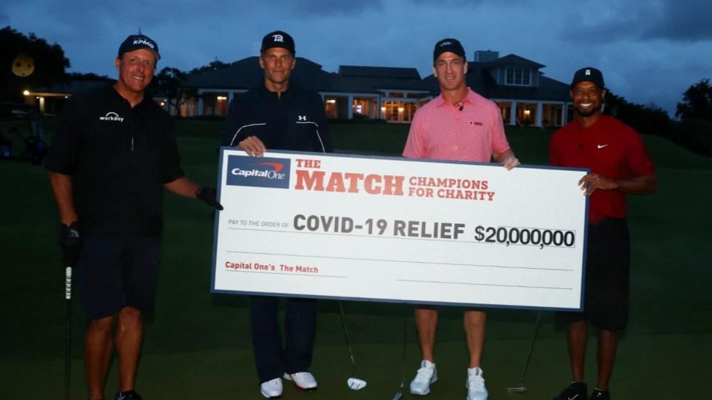 Golf por una buena causa: más de US$ 20 millones recaudados