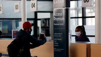 Las cabinas de Latam Airlines en tiempos de covid 19
