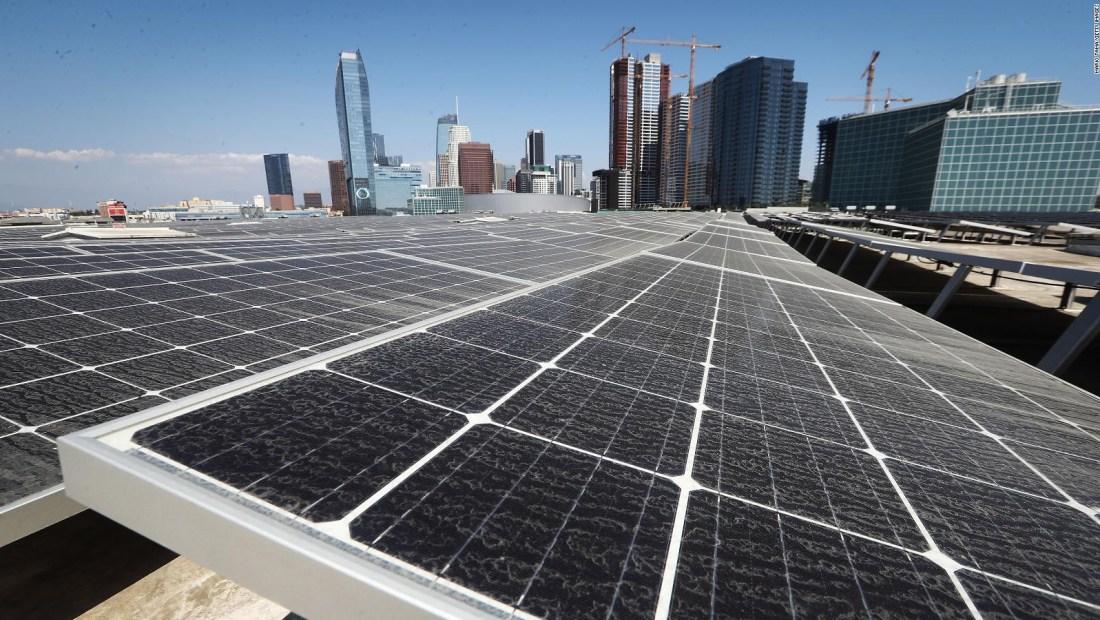 La energía renovable sobrepasó el uso de carbón en EE.UU.