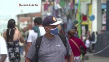 Costa Rica retoma actividades bajo advertencia por repunte