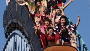 ¿Una montaña rusa silenciosa en los parques temáticos de Japón?