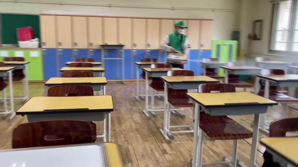 Covid-19: ordenan otro cierre de escuelas en Corea del Sur