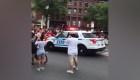 Video parece mostrar una patrulla embistiendo a una multitud