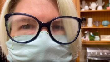 Cómo evitar que se empañen tus gafas con el tapabocas