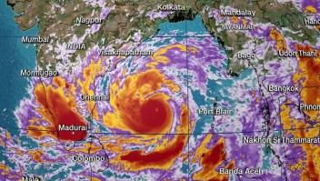India y Bangladesh se preparan para la tormenta más fuerte jamás registrada en la Bahía de Bengala