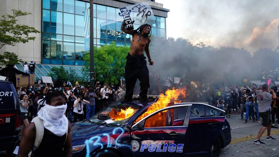 Protestas - George Floryd - Atlanta
