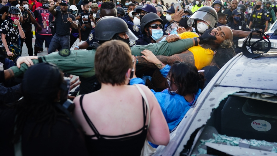 Atlanta - george Floyd - protestas
