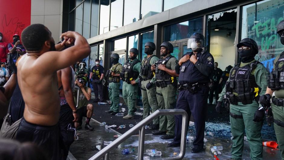 George Floyd - protestas - Atlanta - CNN