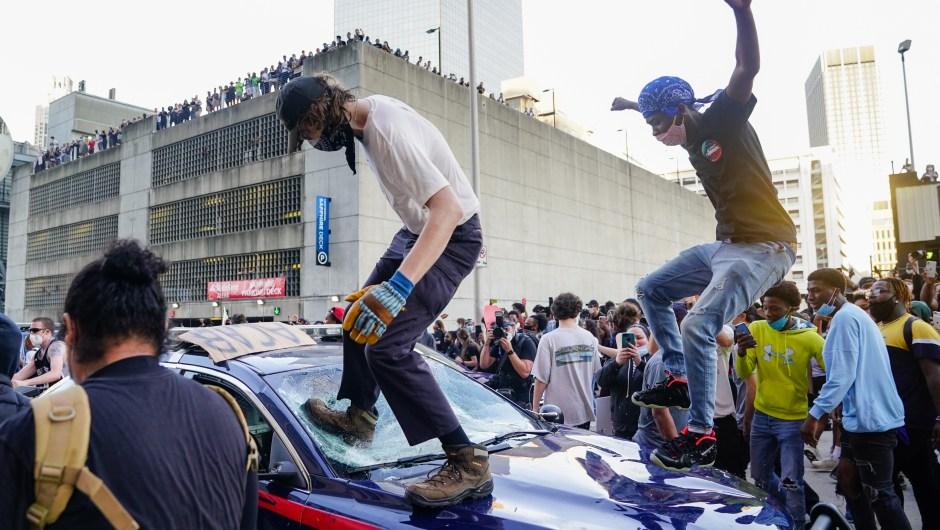 protestas - george floyd - Atlanta
