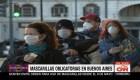 Mascarillas obligatorias en Buenos Aires