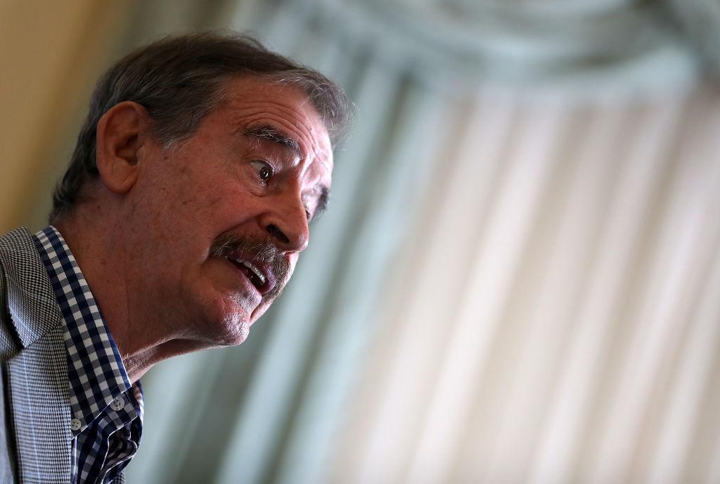"""Vicente Fox: """"Soy el mejor presidente que ha tenido México"""""""
