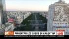 Aumentan los casos en Argentina