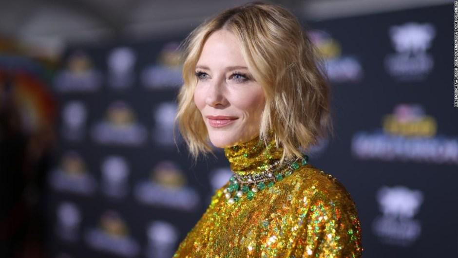 Cate Blanchett - motosierra