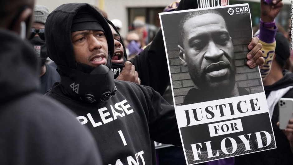 Nick Cannon - George Floyd - protestas
