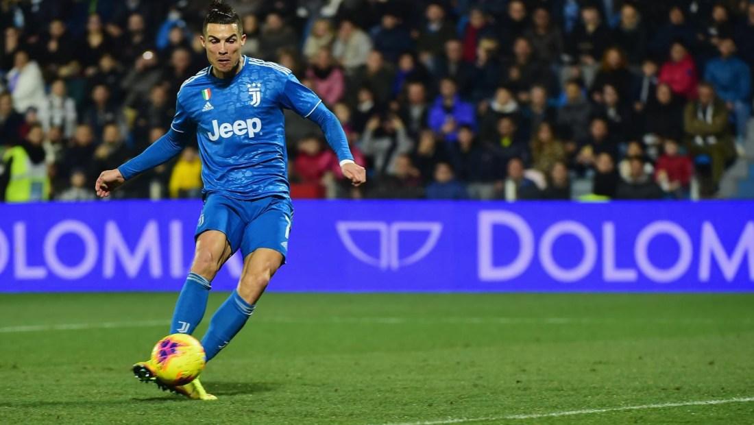 Cristiano Ronaldo afina su puntería