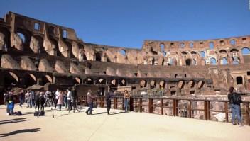 Monumentos en Roma abren con ciertas restricciones