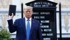 Trump compara su administración con la de Lincoln