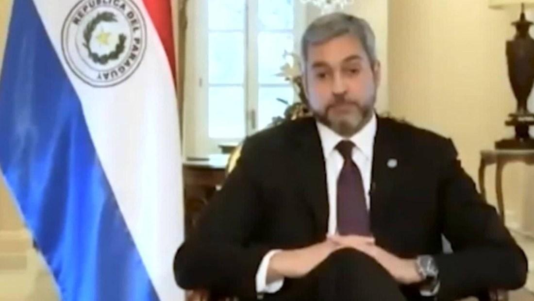 Revuelo en Paraguay por entrevista de Abdo Benítez en CNN