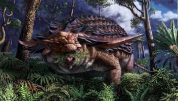 Un estudio revela dieta de un dinosaurio
