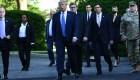 Estas imágenes resumen lo que sucedió el lunes alrededor de la Casa Blanca
