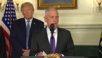 Exsecretario de Defensa de EE.UU. critica a Trump