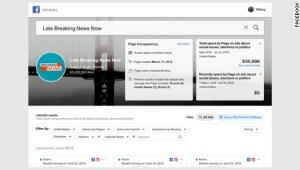 Facebook etiquetará a los medios bajo control estatal