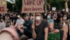 Las protestas desafían el toque de queda en Nueva York