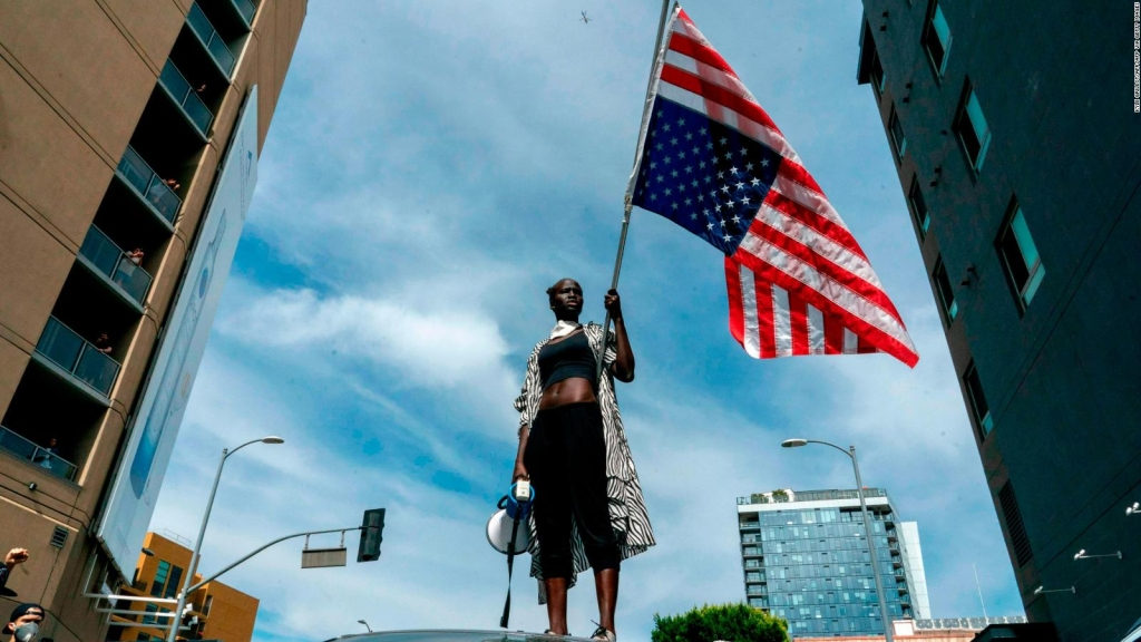 Los Ángeles pide justicia para George Floyd